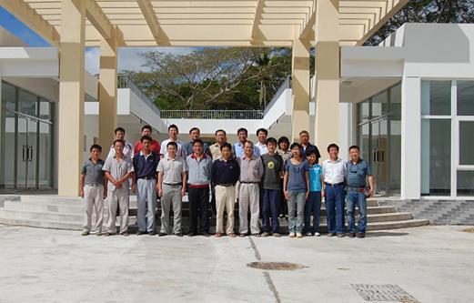 援瓦努阿图水产品加工厂项目顺利通过竣工验收